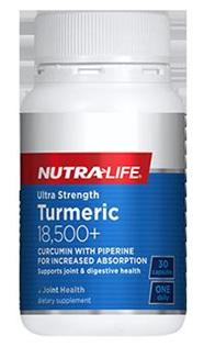 Nutralife Ultra Strength Turmeric 18,500+
