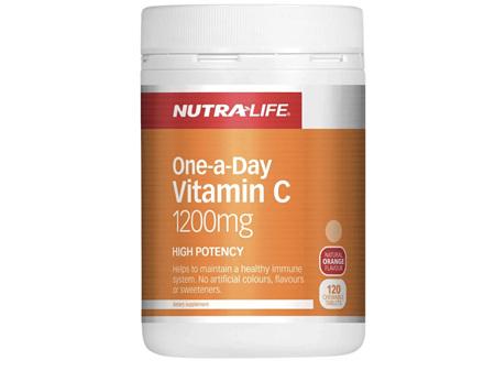 Nutralife Vitamin C 1200mg 50 tablets