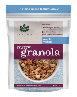 Nutty Granola - Maple Vanilla - 1kg