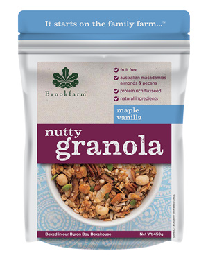 Nutty Granola - Maple Vanilla - 450g