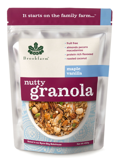 Nutty Granola - Maple Vanilla - 450g