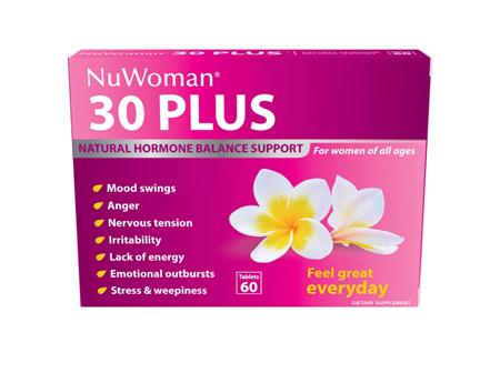 NuWoman 30 PLUS Hormone Bal. 60tab