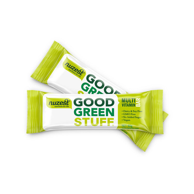 NuZest Good Green Stuff Bar