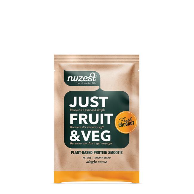 NuZest Just Fruit and Veg Sachet 25g