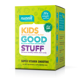 Nuzest Kids Good Stuff Sachet Box 10x15gm