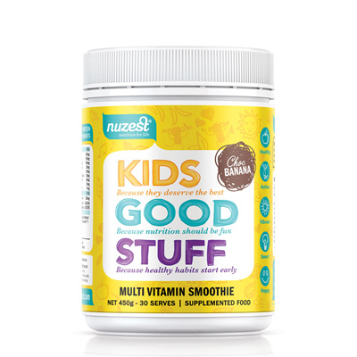 Nuzest Kids Good Stuff Super Nutrient Smoothie 225gm - Choc Banana