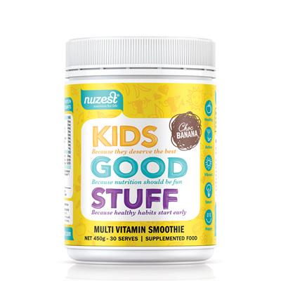 Nuzest Kids Good Stuff Super Nutrient Smoothie 225gm - Choc Banana