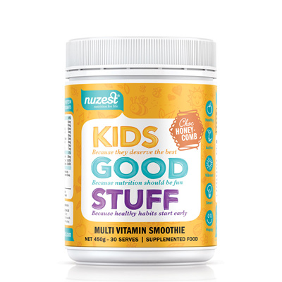 Nuzest Kids Good Stuff Super Nutrient Smoothie 225gm - Choc Honeycomb