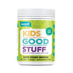 Nuzest Kids Good Stuff Super Nutrient Smoothie 225gm - Mint Choc