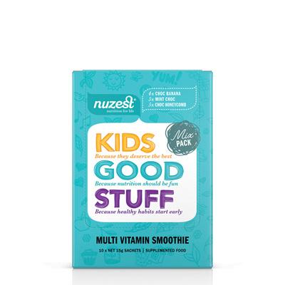 Nuzest Kids Good Stuff Super Nutrient Smoothie Sachet - 3 flavours