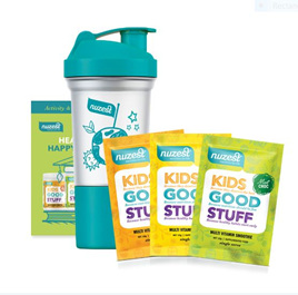 Nuzest Kids Good Stuff - Taster pack incl Shaker