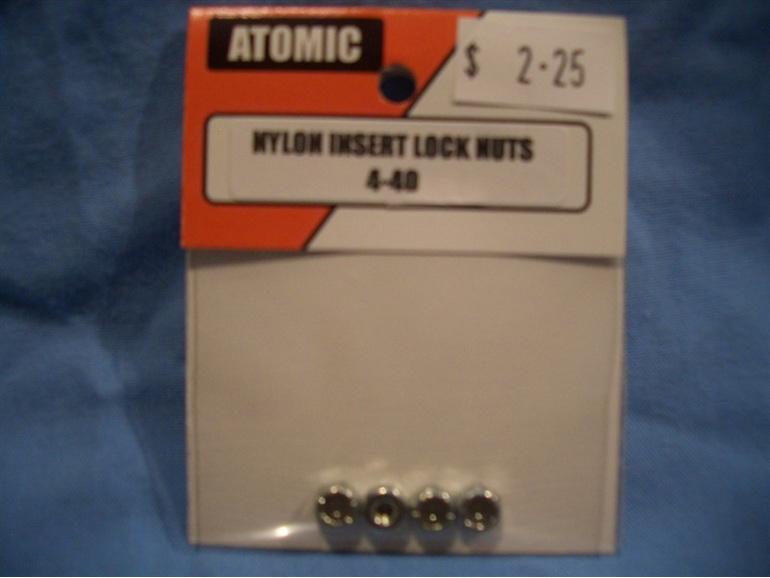 Ny-lock nuts 4-40