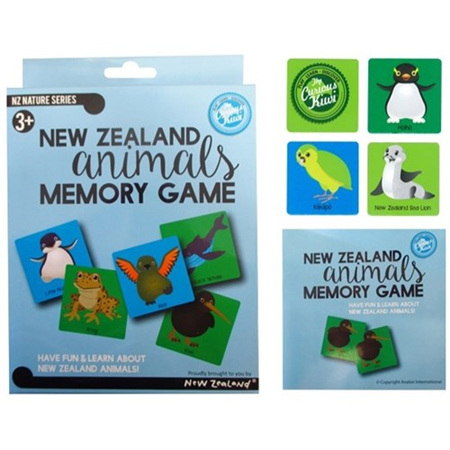 NZ Animals Memory Game PLU 8153