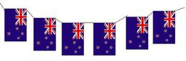 NZ Bunting Paper Flags- 3.5m