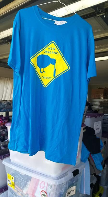 NZ Cricket Blue Top