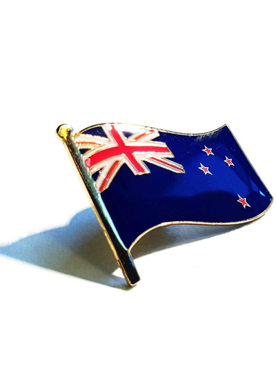 NZ Flag Pin