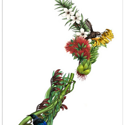 NZ Flora - A3 Print