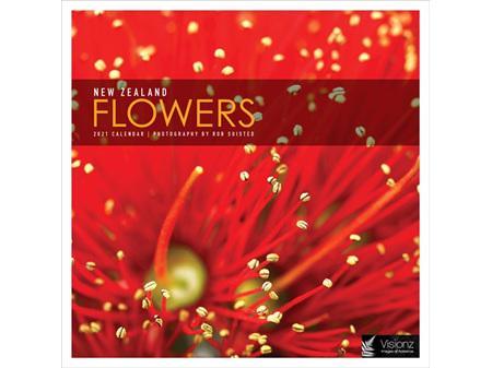 NZ Flowers 2021 Calendar