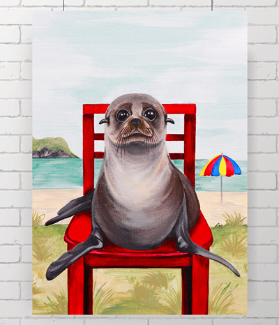 NZ fur seal original