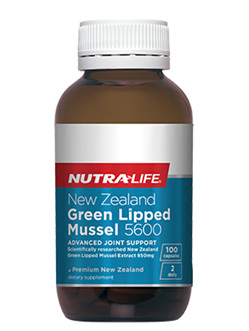 NZ Green Lipped Mussel 5600 - 100 Caps