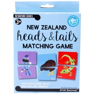 NZ heads & tails matching game PLU8153