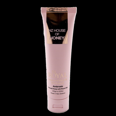 NZ House of Honey ROYAL AMBROSIA Hand CREAM 100G