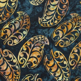NZ Leaf Bali - Midnight C251-128