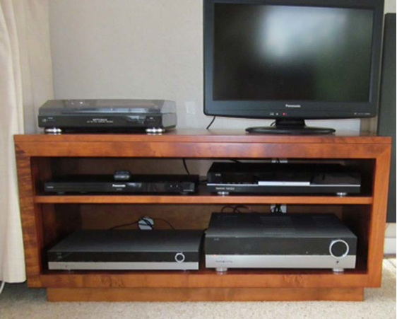 NZ Made TV Stand Mini Solid wood
