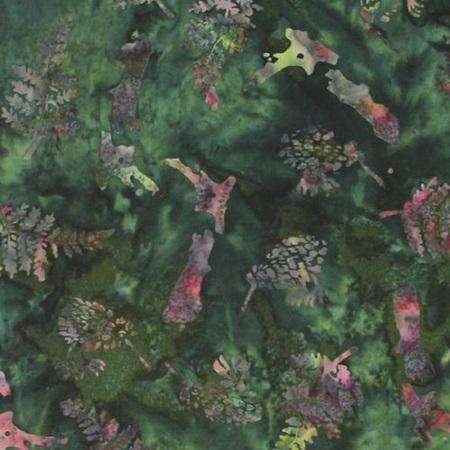 NZ Map & Fern Bali - Forest C250-44