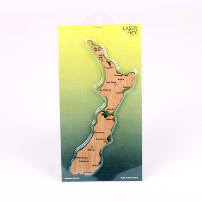 NZ Map Magnet