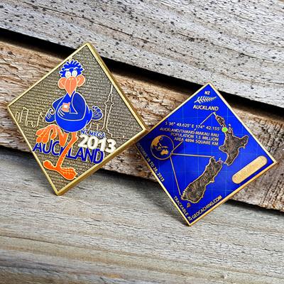 NZ Mega 2013 Event Coin - Gold VLE