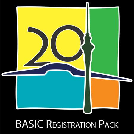 NZ Mega 2020 - Basic Registration Pack