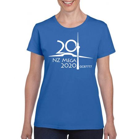 NZ Mega 2020 Event Shirt (non-trackable)