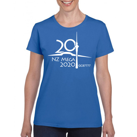 NZ Mega 2020 Event Shirt (non-trackable) PRE-ORDER