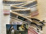 NZ Native Bird inspired Merino Scarves