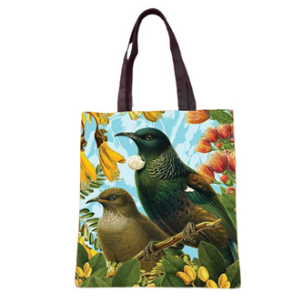 NZ Native Bird Tote Bags