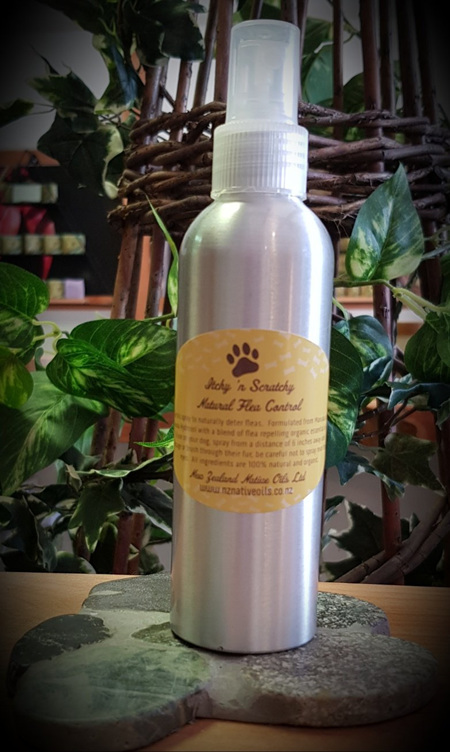 NZ Native Oils - Itchy 'n Scratchy Natural Flea Repellent Spray