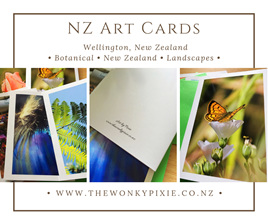 NZ Nature Greeting Cards