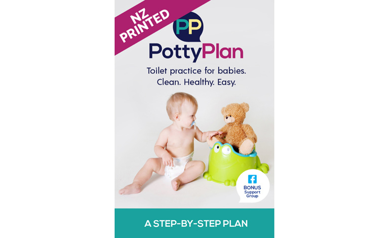 NZ potty training babies book elimination communication easy clean how to