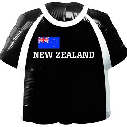 NZ Rugby jersey foil balloon