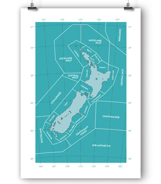 NZ Shipping Forecast Chart