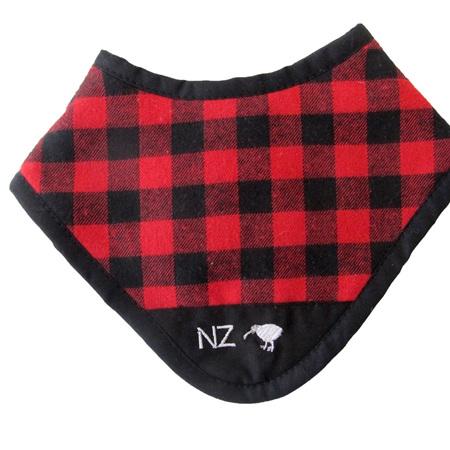 NZ Swanndri Dribble Bib - Red