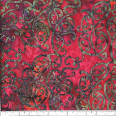 NZ Swirl Bali - Raspberry