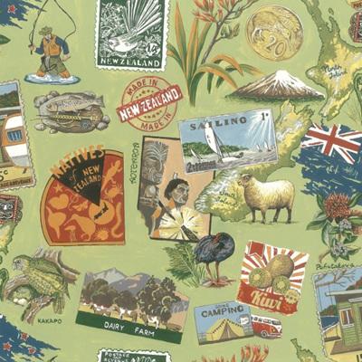 NZ Vintage - Green