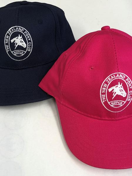 NZPCA Logo Cap Navy or Pink