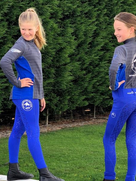 NZPCA Youth Tights - For Casual Riding - Not NZPCA Uniform