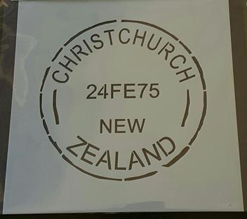 Nzpost - Christchurch Cancellation Mudd