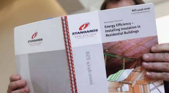 NZS4246, New Zealand Standards, Installing insulation, insulation standards