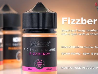 NZ Vapor - Fizzberry - 60ml - Nic Salt e-Liquid