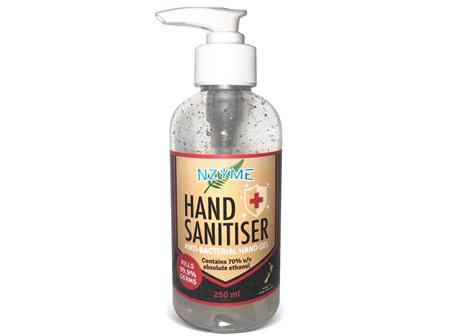 NZYME HAND SANITIZER 250ML